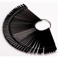 Палитра пръстен чернa 50 броя